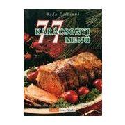 77 karácsonyi menü
