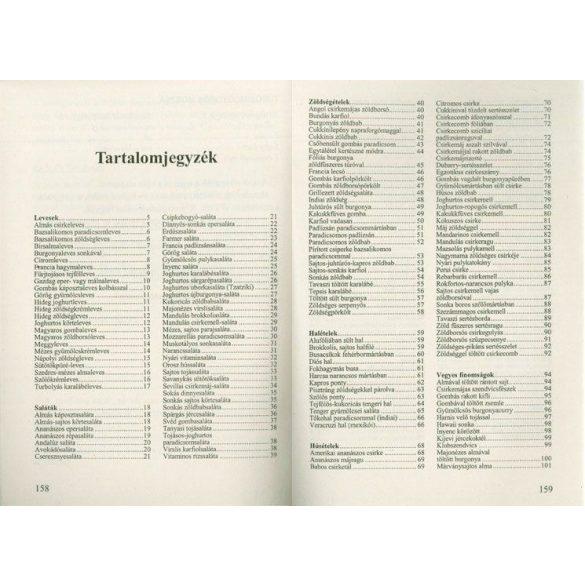 Szingli szakácskönyv