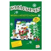 Karácsonyi modellkészítő könyv /Szállítási sérült/