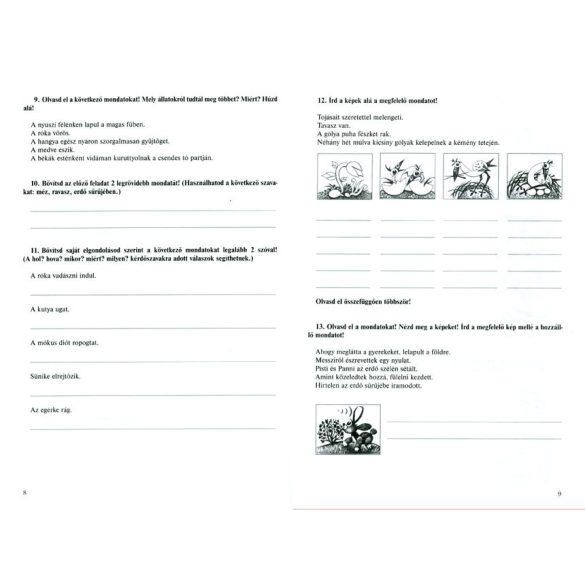 Fogalmazás - foglalkoztató 3. osztályosoknak