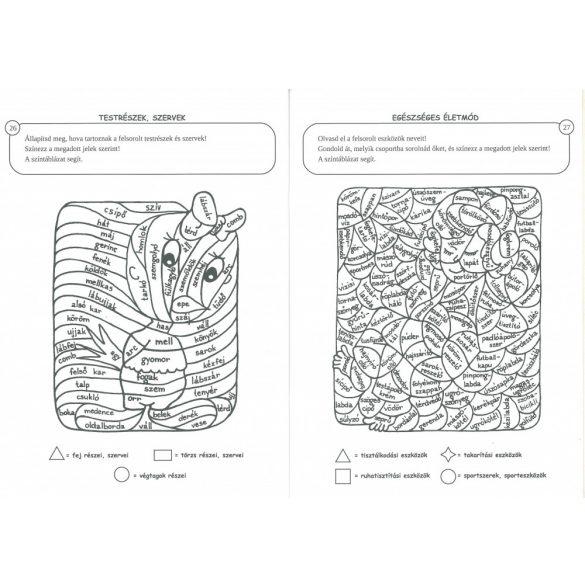 Varázsképek 4. Készségfejlesztő munkafüzet természetismeretből 1-2. osztályosoknak