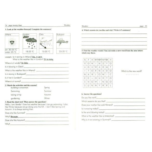 Angol feladatgyűjtemény 11-12 éveseknek