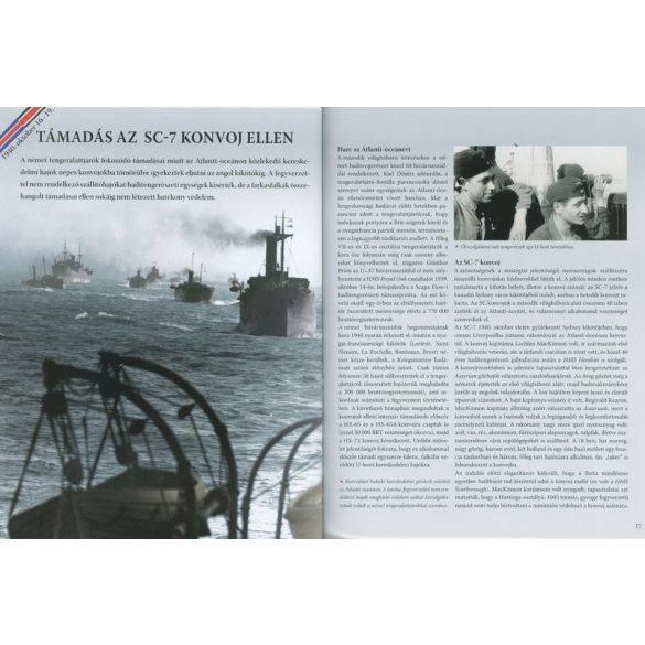 A második világháború teljes története - 15. Kötet - Harc a tengerekért / Szállítási sérült /
