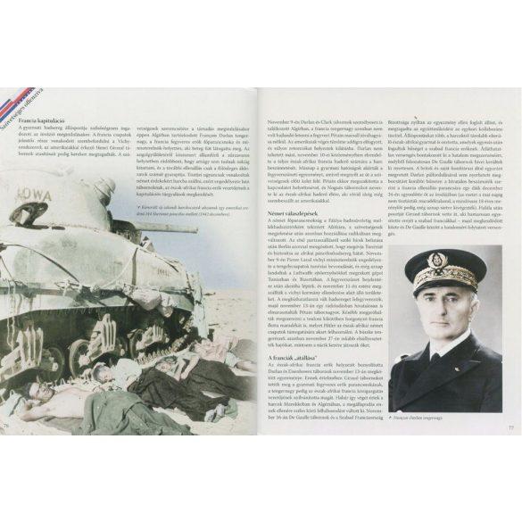 A második világháború teljes története - 16. Kötet - Háború a sivatagban  / Szállítási sérült /