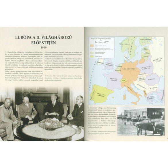 A második világháború teljes története - 21. Kötet - Atlasz  / Szállítási sérült /