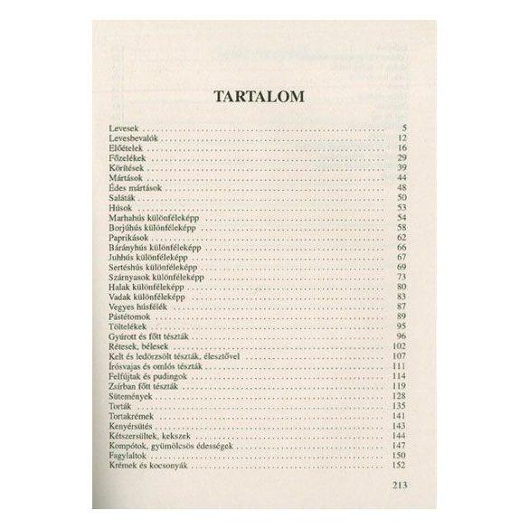 Legújabb magyar szakácskönyv