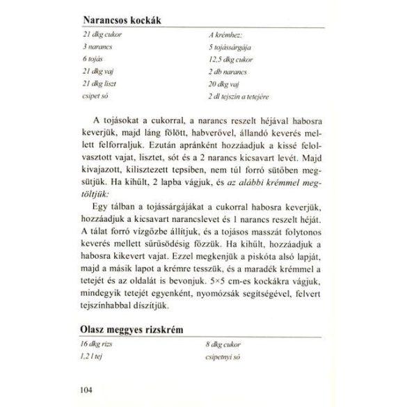 Ica néni receptjei - Kelt tészták, piskóták és torták