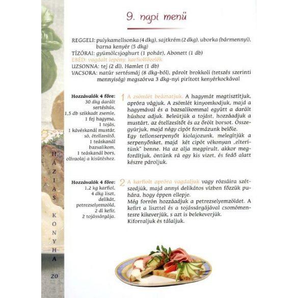 Házias konyha - Ízletes ételek 1200 kalóriával