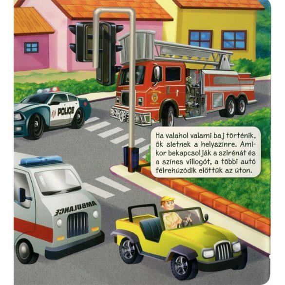 Közlekedés a városban  -  Kartonkönyv gyerekeknek /Szállítási sérült/
