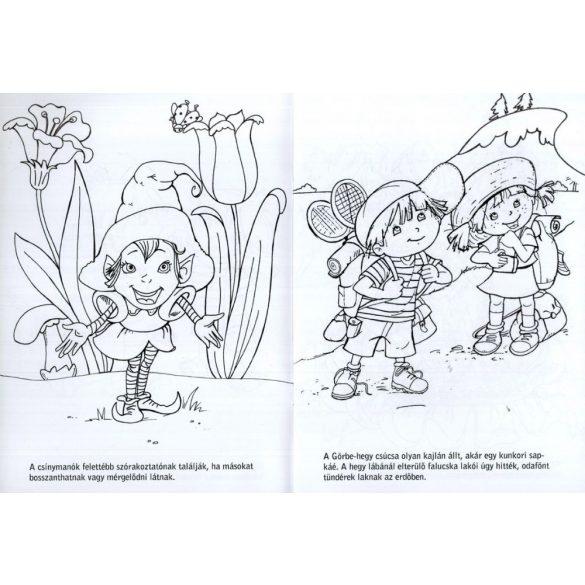Kalandos színező - Lili és Lala