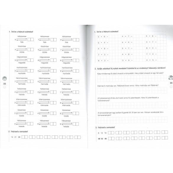 Lépéselőnyben matematikából 2. o. 3. rész
