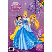 Disney : Hercegnők kifestő