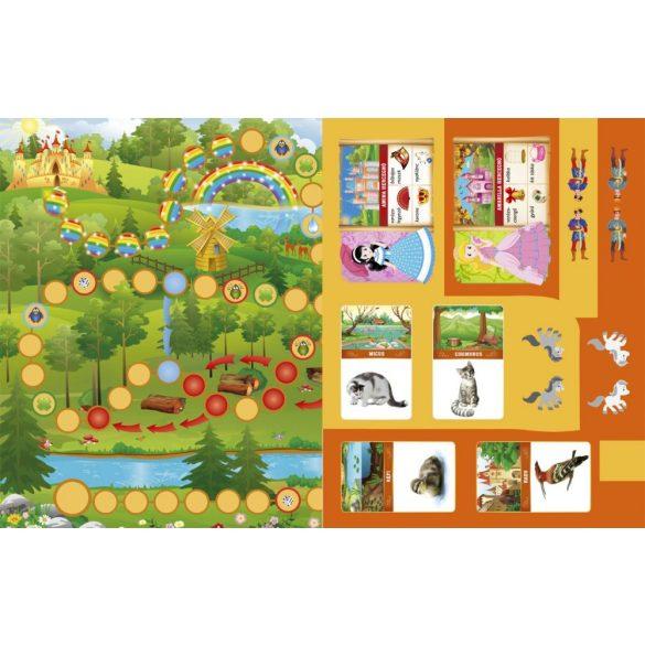Az elvarázsolt erdő - Hercegnős és pónis társasjátékok