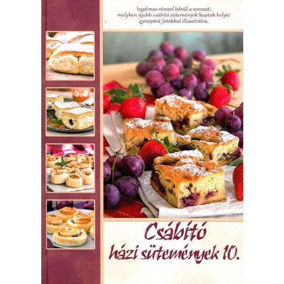 Csábító házi sütemények 10./Szállítási sérült pl: karcos,saroksérült, borítósérült/