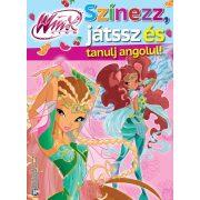 Winx - Színezz, játssz és tanulj angolul!