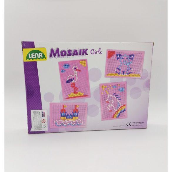 Mozaik képkirakó - lányoknak