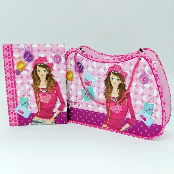 Titkos napló és táska