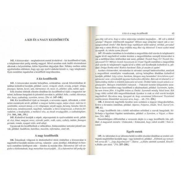 Helyesírási szabályzat és szótár Új kiadás - Szállítási sérült