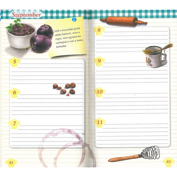 A nagyi receptjei - notesz