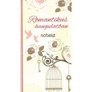 Romantikus hangulatban - notesz ,  matrica miatt borító sérült -  utolsó darabok