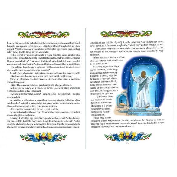 Olvasókönyv a legszebb Bibliai történetekből / Szállítási sérült /