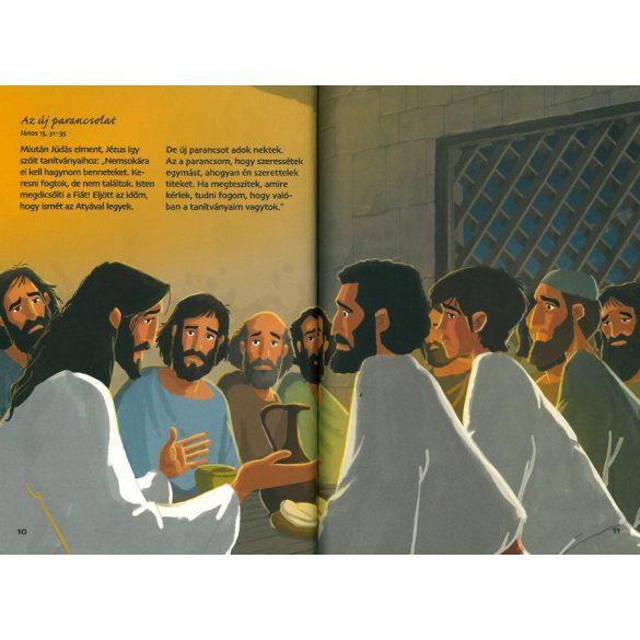 Az utolsó vacsora -  Biblia sorozat gyerekek / Szállítási sérült /