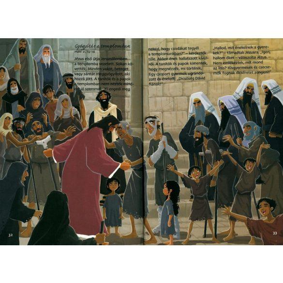 Jézus csodákat tesz -   - BIBLIA SOROZAT GYEREKEK / Szállítási sérült /