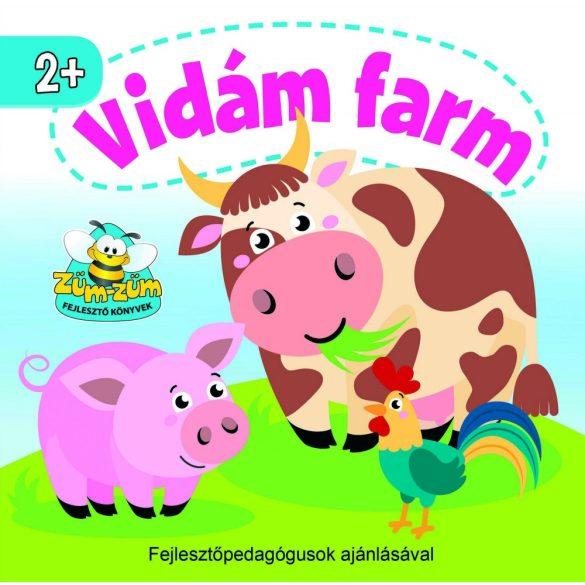Vidám farm   -  Az egyszerű mondókák nem csak a szókincset, hanem a kicsi gyermekek ritmusérzékét és memóriáját is fejlesztik.