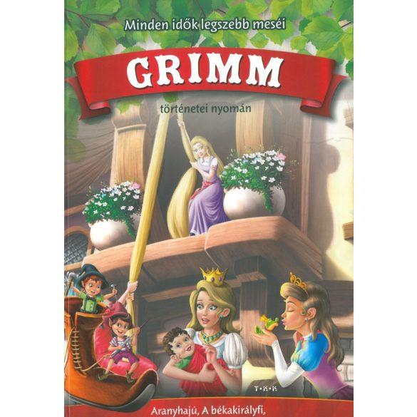 Minden idők legszebb meséi Grimm ( Aranyhajú, A békakirályfi, Rumpeltiltskin, A manók és a cipész) Szállítási sérült