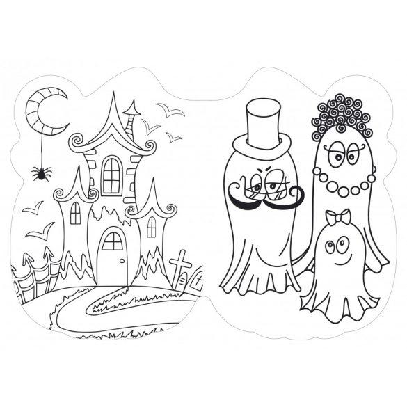 Halloween kifestő
