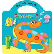 Dinoland 3. - Matricás színező