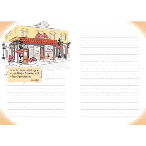 Csak pozitívan! Inspirációs könyv jegyzeteléshez /Gumiszalagos inspirációs könyv/