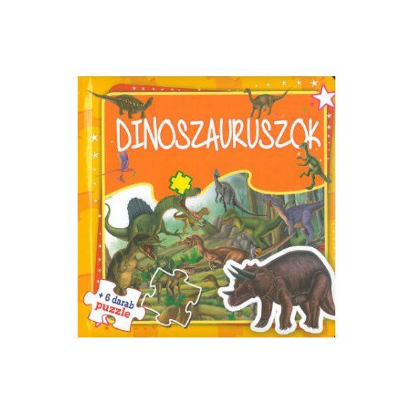 Dinoszauruszok - Szórakoztató puzzle