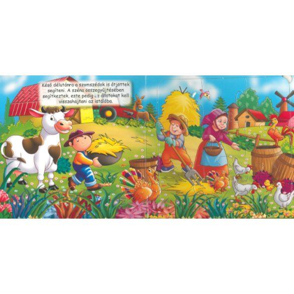 Élet a tanyán - Szórakoztató puzzle