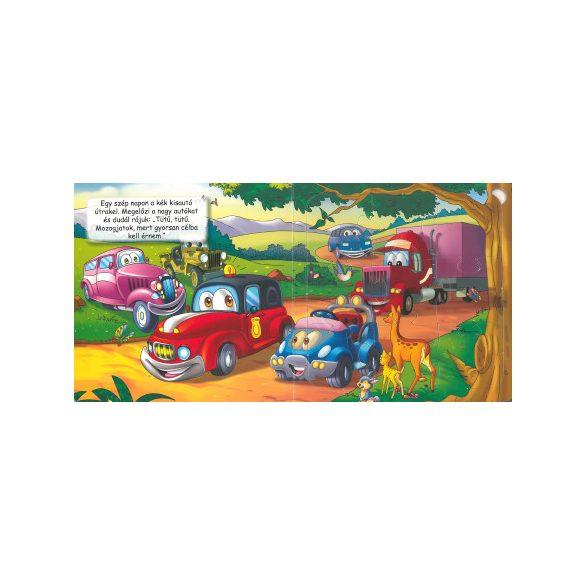 Kisautó az úton - Szórakoztató puzzle