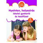 Nyelvtan, helyesírás iskolai gyakorló és tesztfüzet