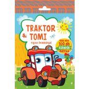 Traktor Tomi rajzos feladványai