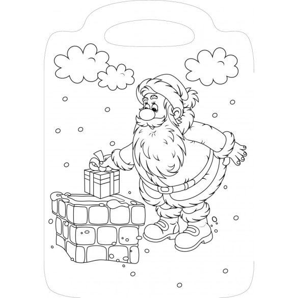 Kiskarácsony versikés kifestő