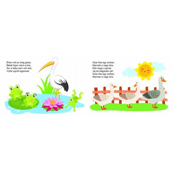 Kis kacsa fürdik- mondókáskönyv