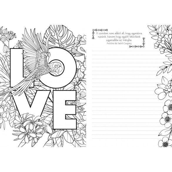 Szerelem - Inspirációs könyv jegyzeteléshez