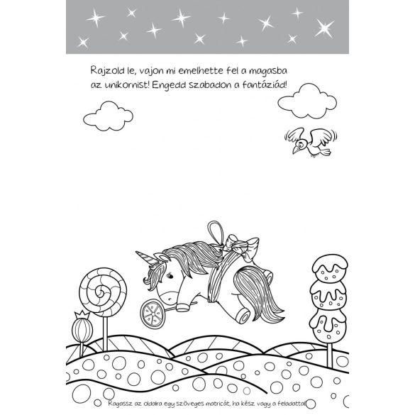 Málnahab unikornis rajzos feladványai