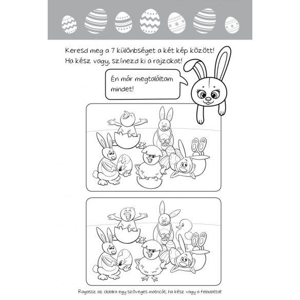 Húsvéti nyuszika - Rajzos feladványai