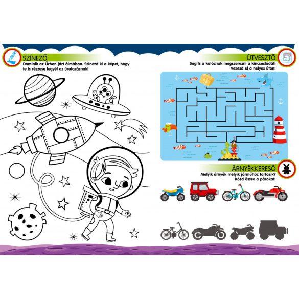 Szipi-szupi feladatok-Játékos foglalkoztató társasjátékkal