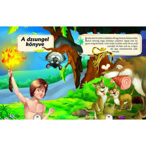 A dzsungel könyve és más történetek