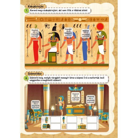 Egyiptomi kincskereső - Játékos foglalkoztató