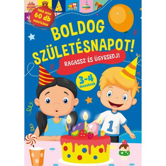 Boldog születésnapot! - Játékos foglalkoztató