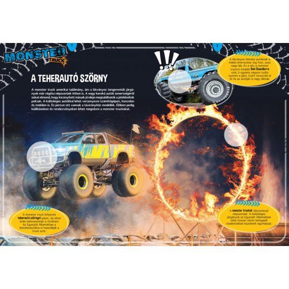 Monster truckok - Óriás járgányok