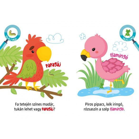 Kedvenc állatkáim - mondókáskönyv