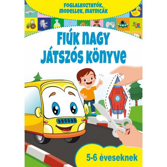 Fiúk nagy játszós könyve