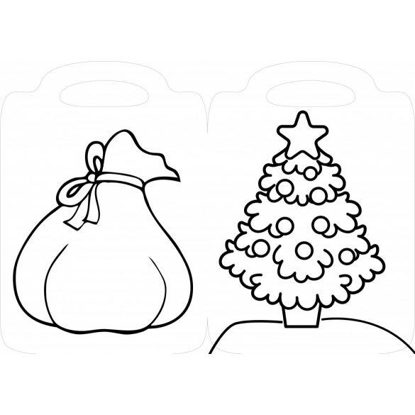 Kis karácsonyi színezőm